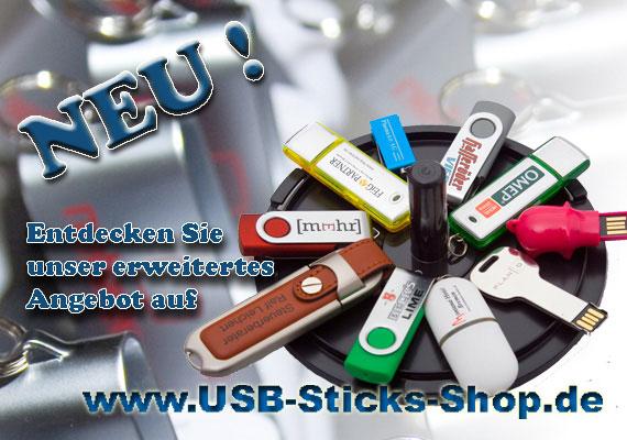 Online-Shop von MK DiscPress für USB-Sticks