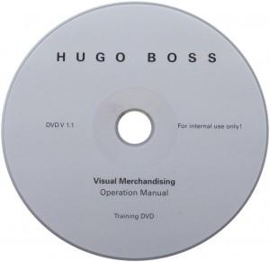 CD Herstellung mit Siebdruck