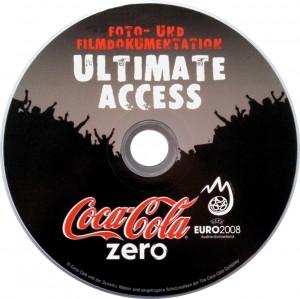 CD Pressung für Coca-Ciola AG mit Offsetdruck