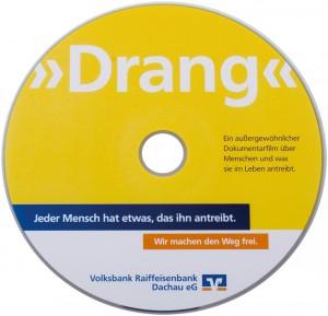 CD Pressung mit Offsetdruck für VR-Banken
